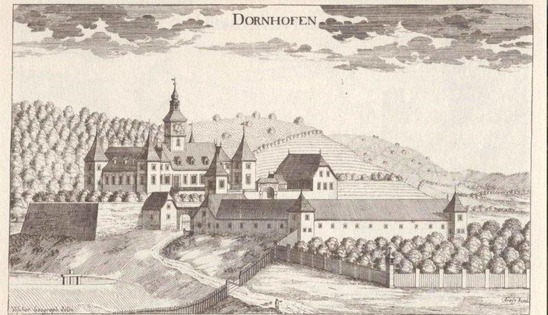 Schloss Dornhofen historischer Stich